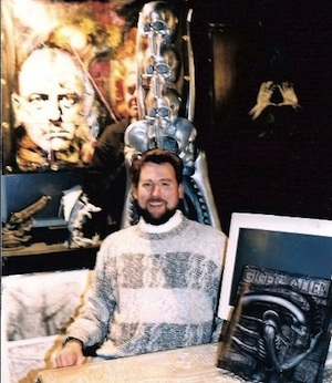 David Mullich and H.R. Giger