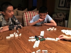 Santa Playing Board Game