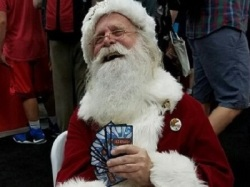 Santa Playing Board Game